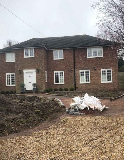 laurel-hill-garden-design-front-of-house-mid-build