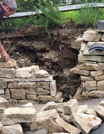 laurel-hill-garden-design-rebuilding-wall
